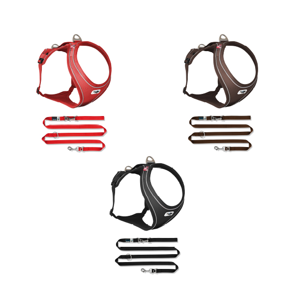 Package Belka Harness Comfort with adjustable leash