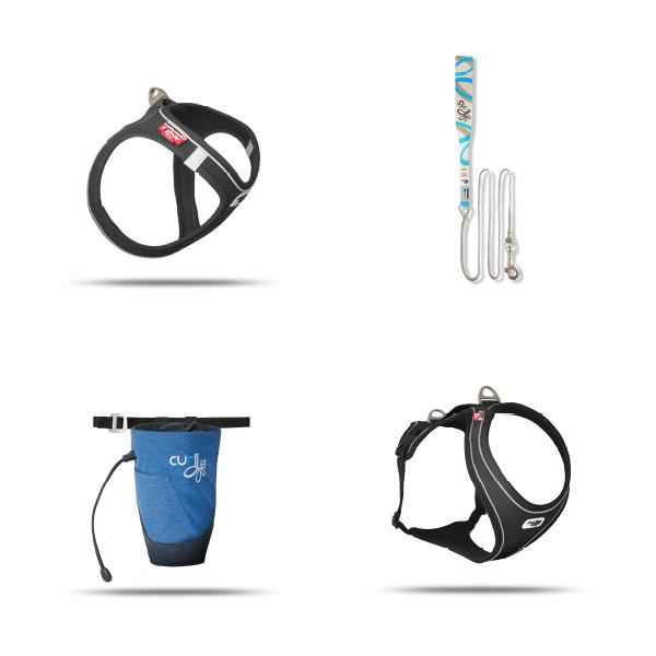 Sample Package Magnetic Vest Harness, Belka Comfort, Treat Bag V2, Ultra Strong Pocket Leash