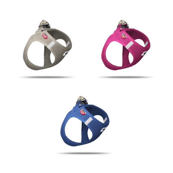 Sample Packages Vest Harness Air-Mesh Blue, Fuchsia & Gray