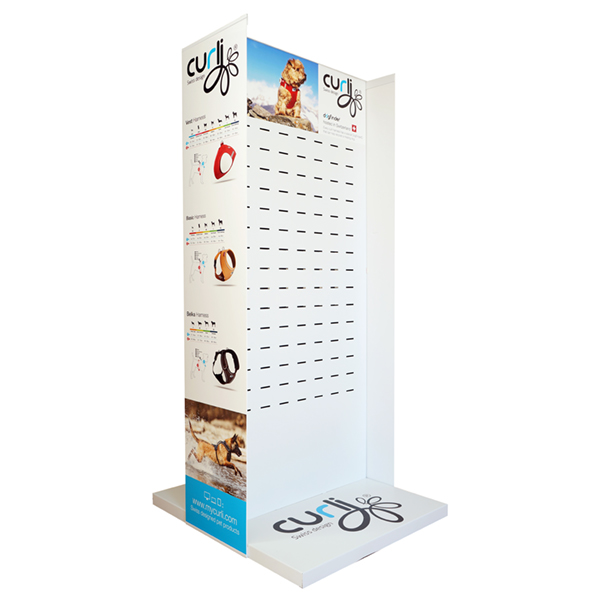 POS Display Metall Large only incl. Side Panels