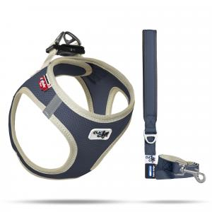 Set Vest Harness Air-Mesh SE20 + Basic leash